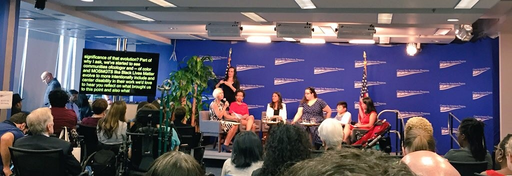 Image of panel of people at Center of American Progress event